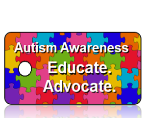 Autism Awareness - Colorful Puzzle Pieces