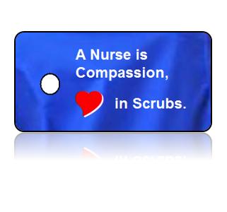 Nurse Appreciation Compassion Key Tag