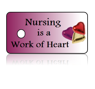 Nurse Appreciation Key Tags