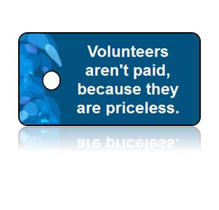 Volunteer Appreciation Key Tags