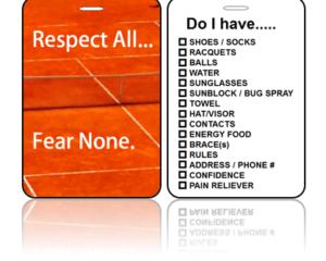 Sports Bag Tags - Fear None