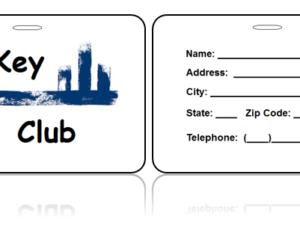 Key Club Bag Tags