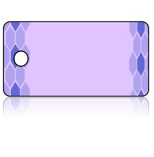 Create Design Key Tags Blue Purple Border Lavender Background