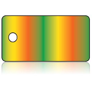 Create Design Key Tags Green Yellow Orange Vertical Fades