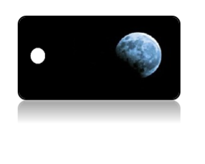 Create Design Key Tags Night Moon Phase