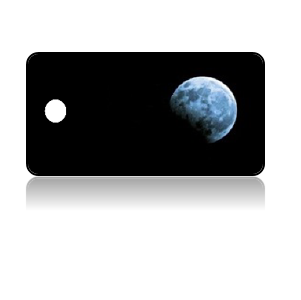 Create Design Key Tags Night Moon Phase