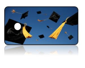 Create Design Key Tags Graduation Hats