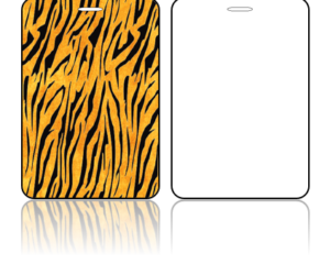 Create Design Bag Tags Tiger Print