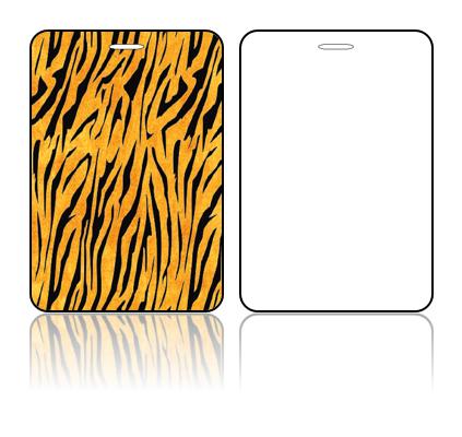 Create Design Bag Tags Tiger Print