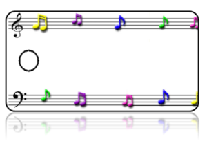 Create Design Key Tags Sheet Music