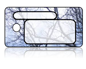 Create Design Key Tags Winter Barren Trees