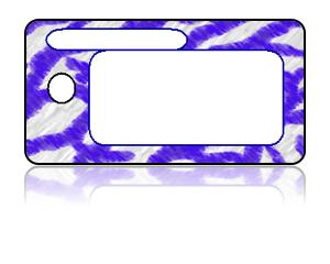 Create Design Key Tags Blue White Coral Modern
