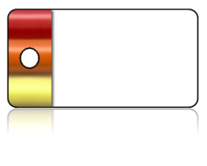 Create Design Key Tags Multi Color White Crayon Modern