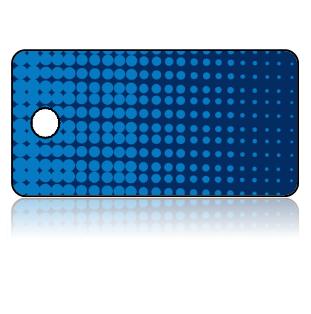 Create Design Key Tags Gradient Blue Dots Modern Pattern