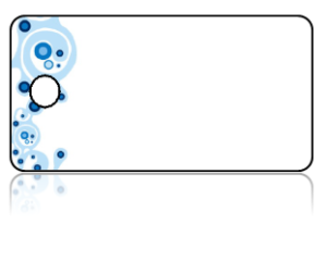 Create Design Key Tags Blue Lava Lamp Border