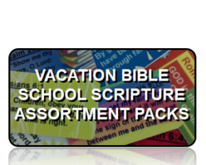 Vacation Bible School Scripture Key Tags Assortment Packs