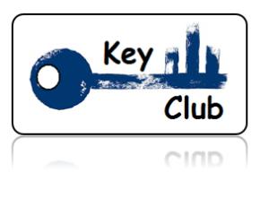Key Club Key Tags