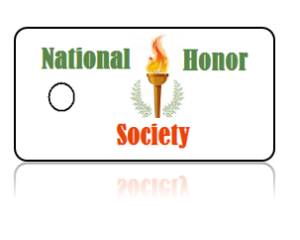 National Honor Society Club Key Tags