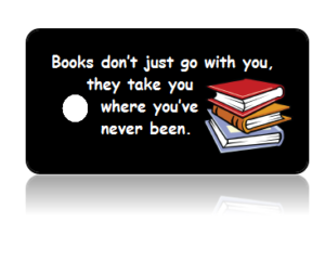 Book Club Black Background Key Tags