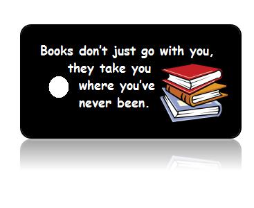 Book Club Black Background Key Tags