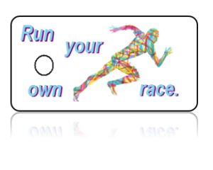 Running Club Key Tags