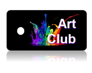 Art Club Key Tags
