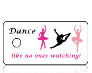 Dance Sports Team Key Tags