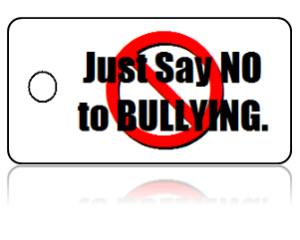 Bully Free Just Say No Education Key Tags
