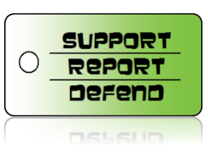 Bully Free Support Education Key Tags