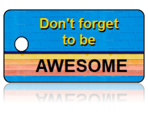 Fun Kids Awesome Key Tags
