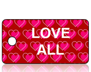 Love All Inspiration Key Tag