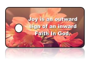 Faith Inspirational Key Tags