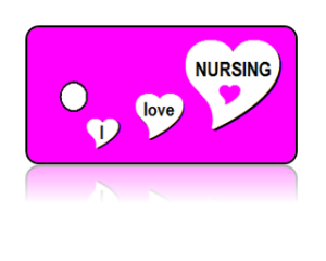 Love Nursing Key Tags
