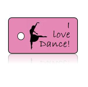 Love Dance Key Tags