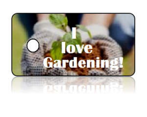 Love Gardening Key Tags