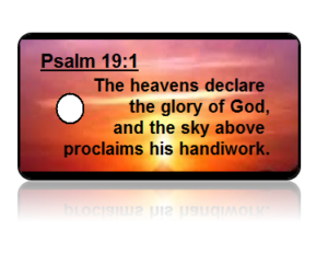 Psalm 19:1 Bible Scripture Key Tags