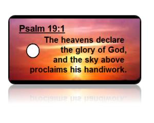 Psalm 19:1 Bible Scripture Key Tags