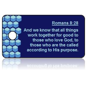 Romans 8:28 Bible Scripture Key Tags