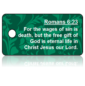 Romans 6:23 Bible Scripture Key Tags