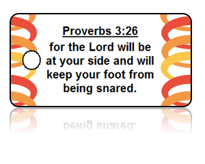 Proverbs 3:26 Bible Scripture Key Tags