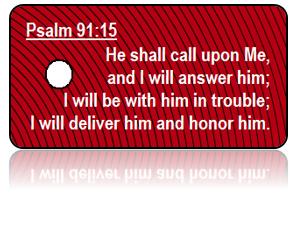 Psalm 91:15 Bible Scripture Key Tags