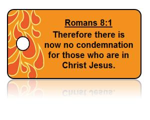 Romans 8:1 Bible Scripture Key Tags