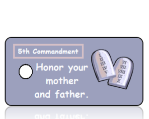 Ten Commandments 5