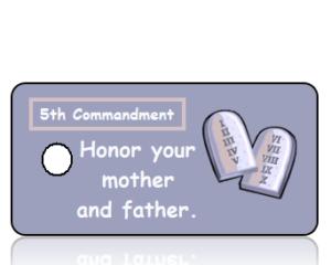 Ten Commandments 5
