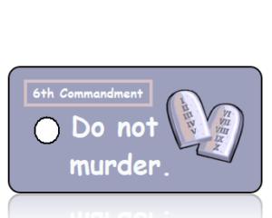 Ten Commandments 6