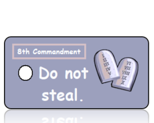Ten Commandments 8