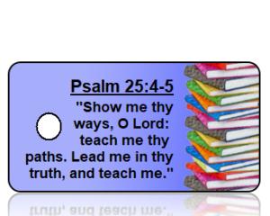 Psalm 25:4-5 Bible Scripture Key Tags