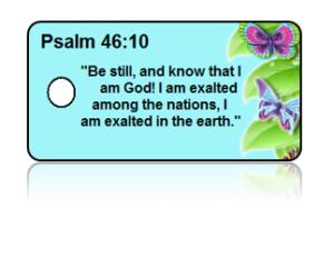 Psalm 46:10 Bible Scripture Key Tags
