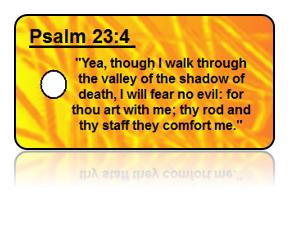 Psalm 23:4 Bible Scripture Key Tags
