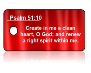 Psalm 51:10 Bible Scripture Key Tags